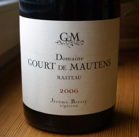 Gourt de Mautens Cotes du Rhone Rasteau 2006