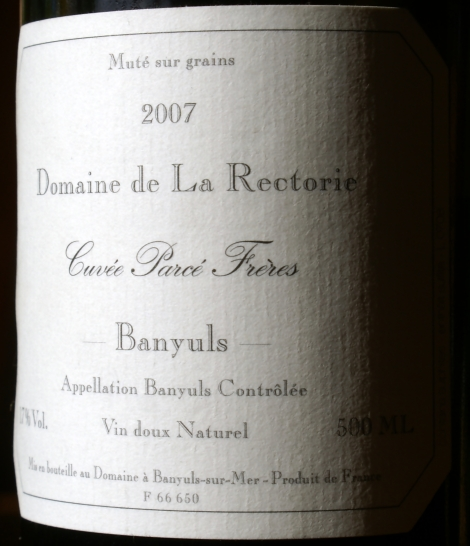 Banyuls is good for you. Please drink it more often.