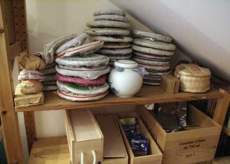 Not the hugest collection of puer but still a problem to move and organise.