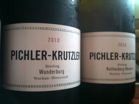 Pichler-Krutzler Riesling Wunderburg 2010