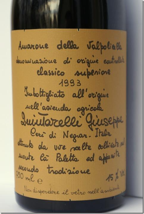 Giuseppe Quintarelli Amarone della Valpolicella Classico Superiore 1993