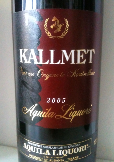 Aquila Liquori Kallmet 2005 Albania