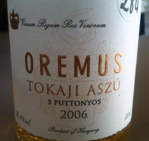 Oremus Tokaji Aszu 5 puttonyos 2006